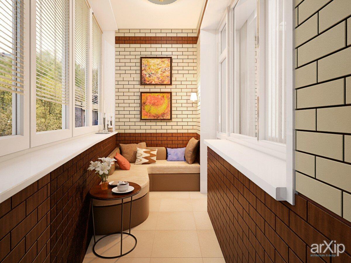 Дизайн балкона внутри 3 кв м