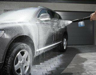 миття авмобіля взимку
