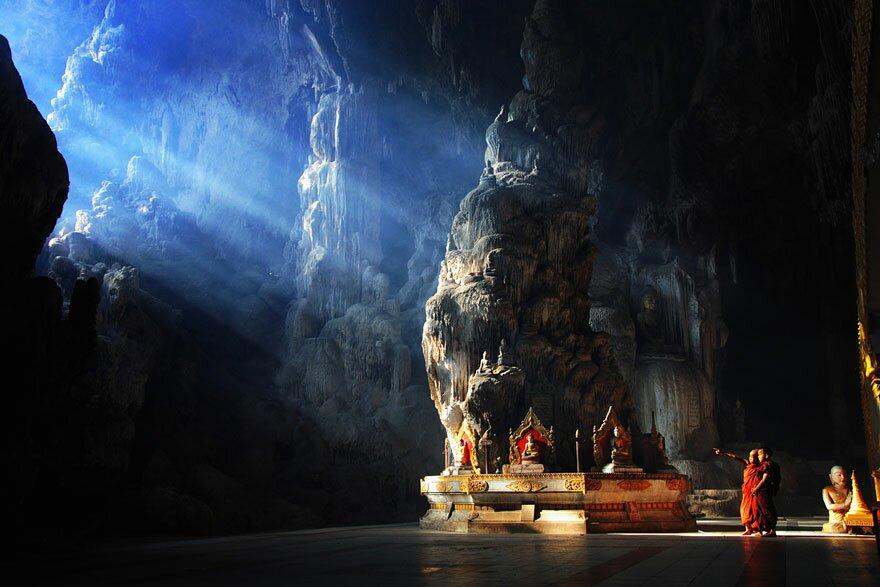 Печера Kyaut Sae, Мьянмар